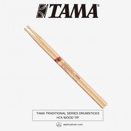TAMA TRADITIONAL SERIES DRUMSTICKS H7A WOOD TIP