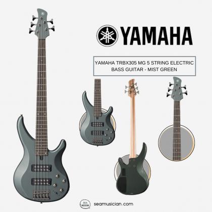 YAMAHA TRBX305 MG 5 STRING ELECTRIC BASS GUITAR - MIST GREEN