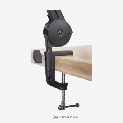 GATOR FRAMEWORKS DESKTOP MICROPHONE BOOM STAND/BOOM MICROPHONE ARM STAND (GFWMICBCBM2000)