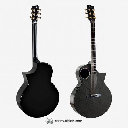 ENYA EAX4e 41 INCH ACOUSTIC GUITAR WITH DOUBLE S4 EQ, BAG AND STRAP