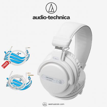 AUDIO TECHNICA ATH-PRO5X PROFESSIONAL OVER EAR DJ MONITOR HEADPHONE WHITE