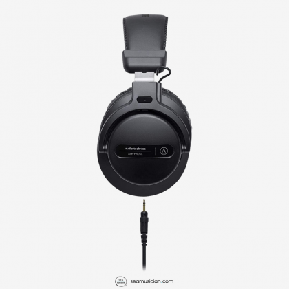 AUDIO TECHNICA ATH-PRO5X PROFESSIONAL OVER EAR DJ MONITOR HEADPHONE BLACK