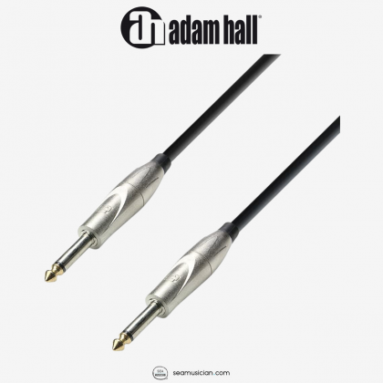 ADAM HALL CABLE K3IPP0900 INSTRUMENT CABLE 6.3MM JACK MONO TO 6.3MM JACK MONO 9METER
