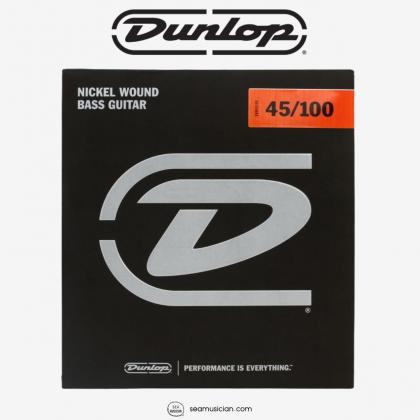 DUNLOP DBN45100 BASS NICKEL MEDIUM LT 45-100