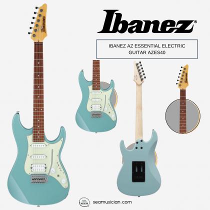 IBANEZ AZ ESSENTIAL ELECTRIC GUITAR AZES40 PRB (HSS) PURIST BLUE