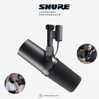 SHURE SM7B DYNAMIC MICROPHONE FOR VOCAL, PODCAST, FREE WINDCREEN