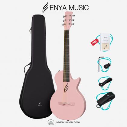 ENYA NOVA GO 33IN ACOUSTIC GUITAR PINK