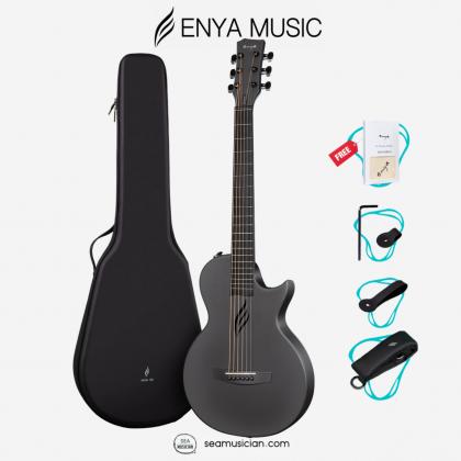 ENYA NOVA GO AI 33IN ACOUSTIC (AI EQ) GUITAR BLACK