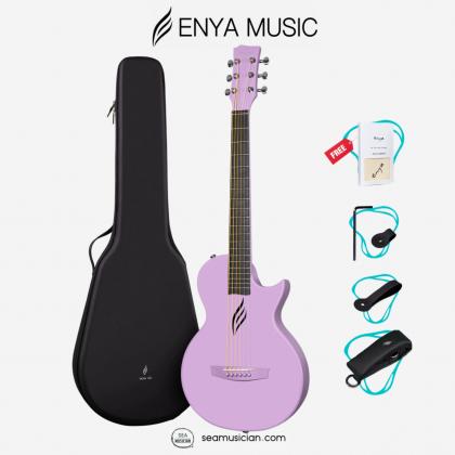 ENYA NOVA GO AI 33IN ACOUSTIC (AI EQ) GUITAR PURPLE