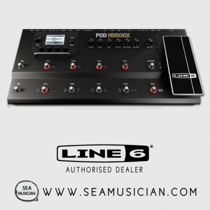 LINE 6 POD HD500X GUITAR MULTI-EFFECTS FLOOR PROCESSOR (LINE6-PODHD500X)
