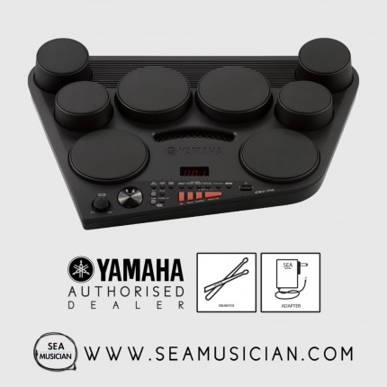 YAMAHA DD-75 DIGITAL DRUM SET WITH ADAPTER (YMH-DD75)