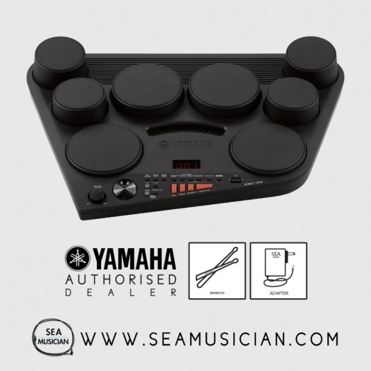 YAMAHA DD-75 DIGITAL DRUM SET WITH ADAPTER (YMH-DD75)