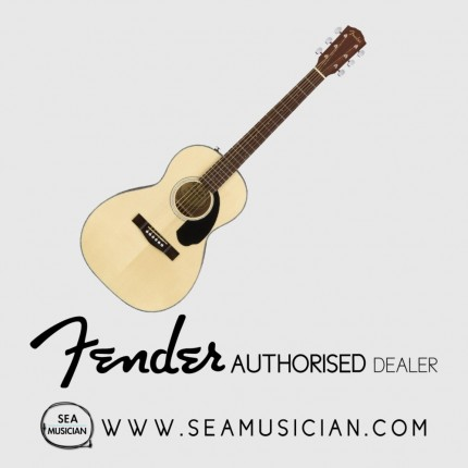 FENDER CP60S CP SERIES PARLOR ACOUSTIC GUITAR NATURAL (CP60S)