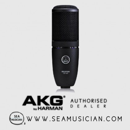 AKG PERCEPTION P120 CONDENSER MICROPHONE RECORDING MIC (AKG-P120)