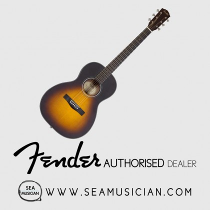 FENDER CP100 CP SERIES PARLOR ACOUSTIC GUITAR SUNBURST (CP100)