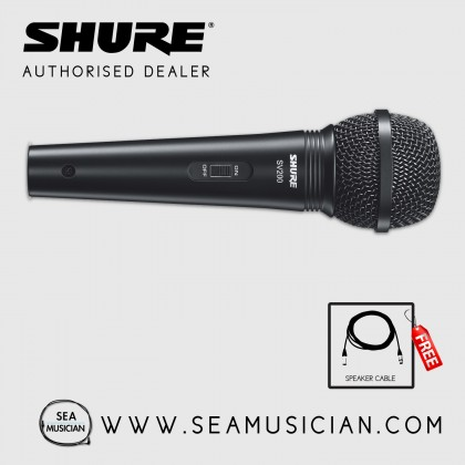 SHURE SV200Q-X DYNAMIC VOCAL MICROPHONE WITH 15FT XLR-XLR CABLE