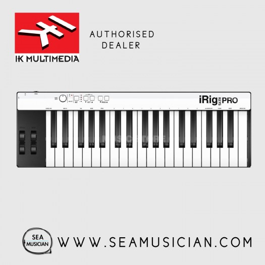 IK MULTIMEDIA IRIG KEYS PRO WITH SAMPLETANK SE (IK-IRIGKEYSUSB)