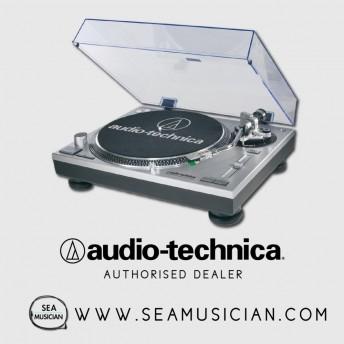 AUDIO-TECHNICA ATLP120USB DIRECT DRIVE PROFESSIONAL TURNTABLE USB/ANALOG - SILVER (AT-LP120-USB)