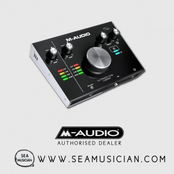 M-AUDIO M-TRACK 2X2 C-SERIES | 2-IN/2-OUT USB AUDIO INTERFACE (M43-MTRACK2X2)