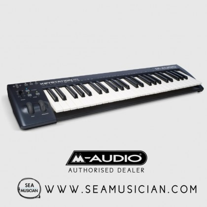 M-AUDIO KEYSTATION 49 II | 49-KEY USB MIDI KEYBOARD CONTROLLER WITH PITCH-BEND & MODULATION WHEELS (M43-KEYSTATION 49 II)