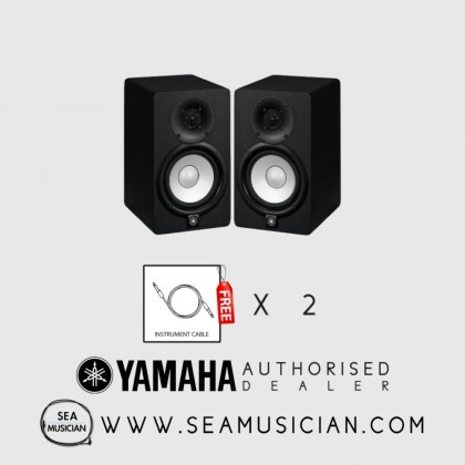 YAMAHA HS-5 5IN POWERED STUDIO MONITOR (PAIR) FREE 2 CABLE (YMH-CHS5)