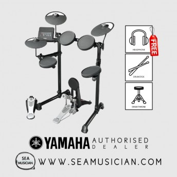 YAMAHA DTX-450K WITH DRUM THRONE, HEADPHONE AND 1-PAIR OF DRUMSTICK (YMH-DTX450K)