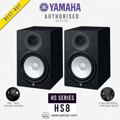YAMAHA HS-8 8IN POWERED STUDIO MONITOR (PAIR) (YMH-CHS8)