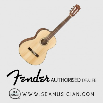 FENDER CN60S CN SERIES NYLON CLASSICAL GUITAR NATURAL (FEN-F03-0961714021)