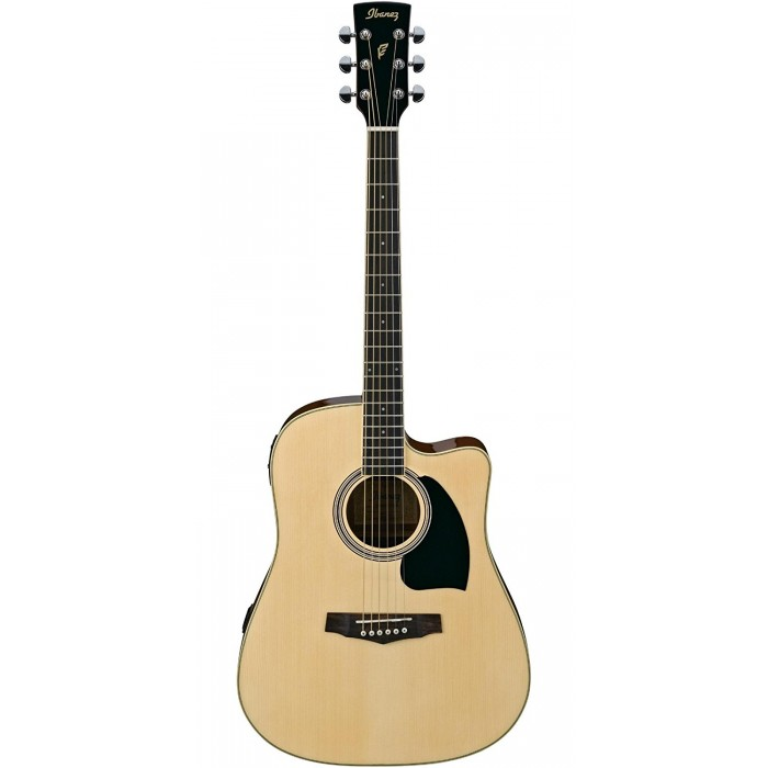 ibanez pf15ece nt acoustic guitar with pickup free instrument cable iba pf15ecent. Black Bedroom Furniture Sets. Home Design Ideas