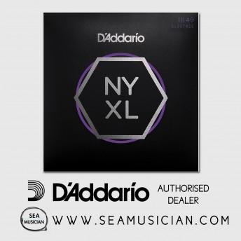 D'ADDARIO NYXL 1149 NICKEL WOUND ELECTRIC GUITAR STRINGS - MEDIUM (DAD-NYXL1149)
