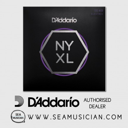 D'ADDARIO NYXL 1149 NICKEL WOUND ELECTRIC GUITAR STRINGS - MEDIUM (DAD-NYXL1149)