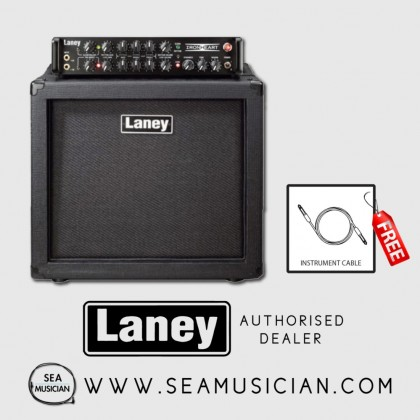 LANEY IRT STUDIO HEAD & IRT112 CAB HALF STACK GUITAR AMP (LANEY-IRTSTUDIOSET112)