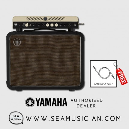 "YAMAHA THR100H AMP HEAD + THRC112 1X12"" GUITAR CABINET (YMH-THR100HSET112)"