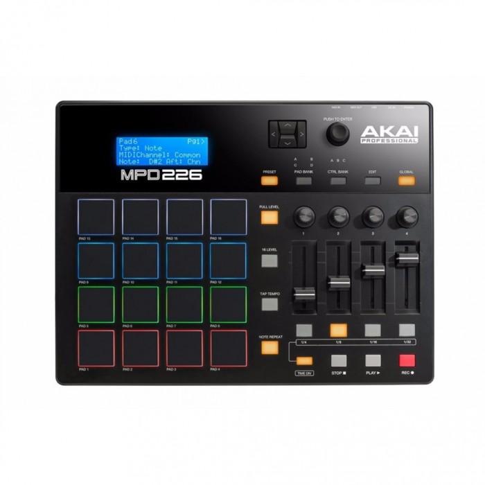Akai Professional Mpd226 Midi Drum Pad Controller Akampd226