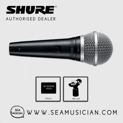 SHURE PGA48-LC CARDIOID DYNAMIC VOCAL/KARAOKE/SPEECH MICROPHONE (SHU-PGA48-LC)