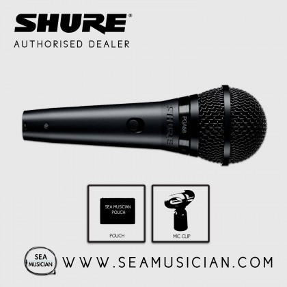 SHURE PGA58-LC CARDIOID VOCAL/SPEECH MICROPHONE (SHU-PGA58-LC)
