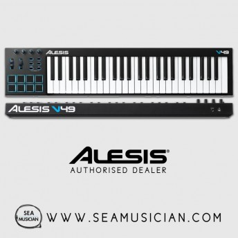 ALESIS V49 49-KEY USB-MIDI KEYBOARD CONTROLLER (ALE-V49)