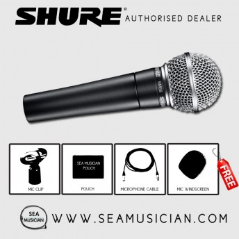 SHURE SM58LC CARDIOID VOCAL MICROPHONE (SHU-SM58LC)
