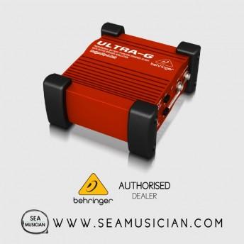 BEHRINGER GI100 DIRECT BOX GUITAR DI BOX WITH VIRTUAL 4X12'' SPEAKER CAB (BEH-GI100)