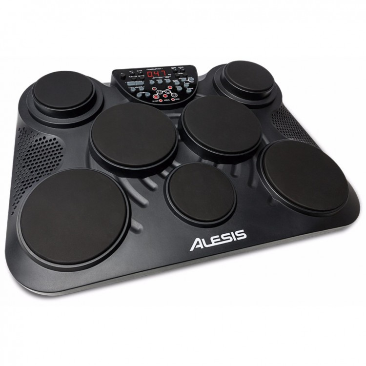 ALESIS COMPACTKIT 7 7-PAD PORTABLE DIGITAL TABLE TOP DRUM SET  (COMPACTKIT7)