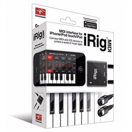 IK MULTIMEDIA iRIG MIDI FOR iPHONE/iPOD TOUCH/iPAD (IRIGMIDI)