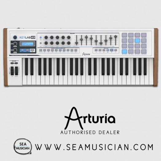 ARTURIA KEYLAB 49 49-KEY SEMI-WEIGHTED MIDI CONTROLLER (ARTURIA-KEYLAB49)