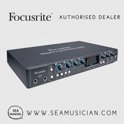 FOCUSRITE SAFFIRE PRO 26 FIREWIRE AUDIO INTERFACE (FOC-F15-MOSF0017)