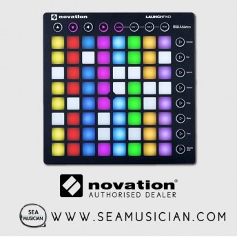 NOVATION LAUNCHPAD ABLETON LIVE CONTROLLER WITH 64 RGB BACKLIT PADS (NOVLPD09)