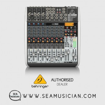 BEHRINGER XENYX QX1622USB MIXER WITH USB AND EFFECTS (BEH-XENYX-QX1622USB)