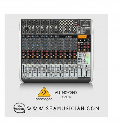 BEHRINGER XENYX X2222USB MIXER WITH USB AND EFFECTS (BEH-XENYX-X2222USB)