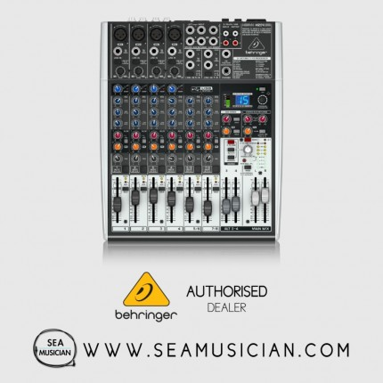 BEHRINGER XENYX X1204USB 12 CHANNEL MIXER WITH USB/AUDIO INTERFACE (BEH-XENYX-X1204USB)