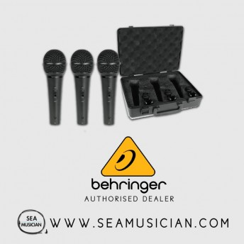 BEHRINGER ULTRAVOICE XM1800S WITH 3 HANDHELD DYNAMIC MICROPHONE (BEH-XM1800S)