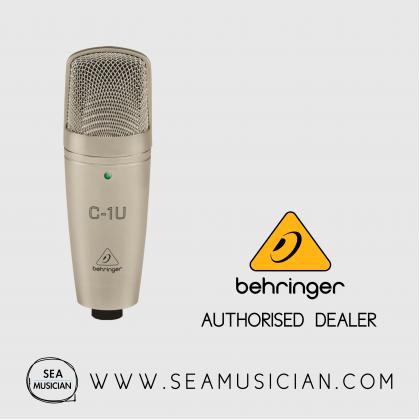 BEHRINGER C-1U CONDENSER MICROPHONE (BEH-C-1U)