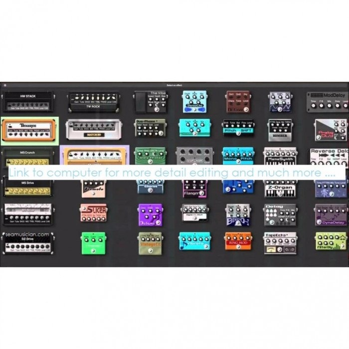 zoom g5n multi effects guitar effect processor 200 patches 9 fx at once aux in usb audio amp. Black Bedroom Furniture Sets. Home Design Ideas